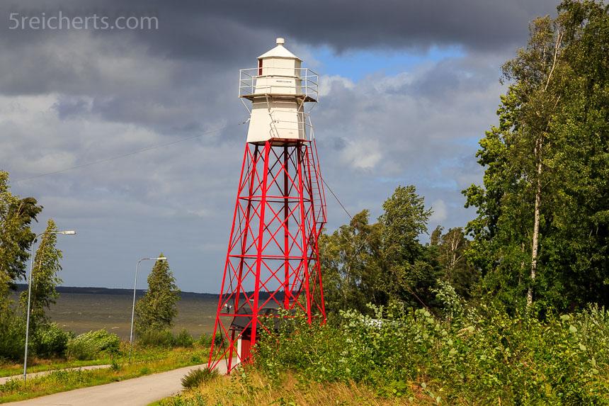 der zweite Leuchtturm von Mariestad