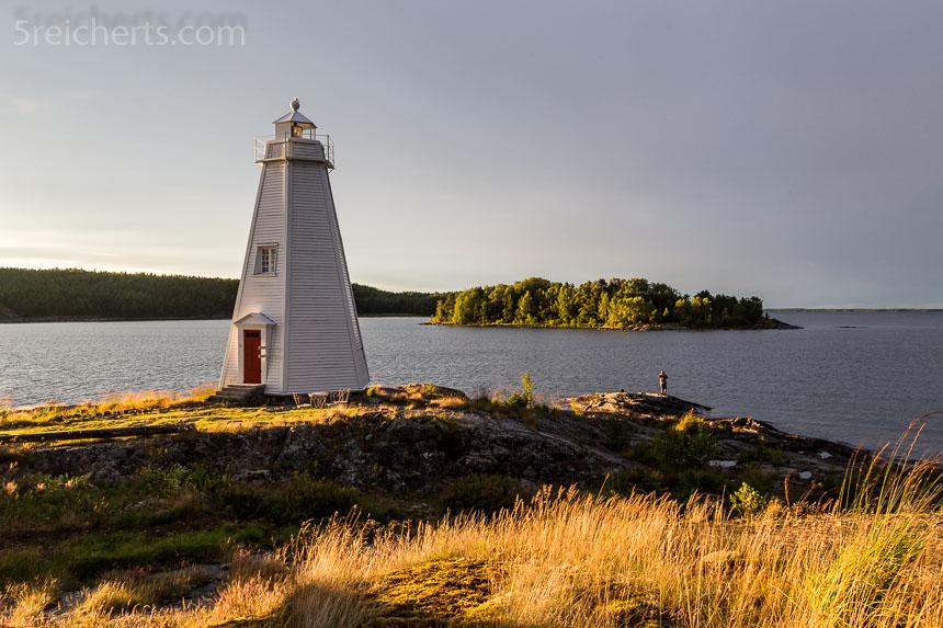 Stavik Leuchtturm im besten Abendlicht