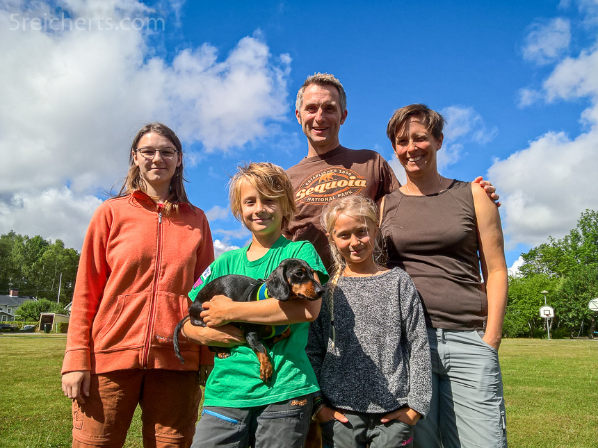 Hartmut; Barbara und Kids