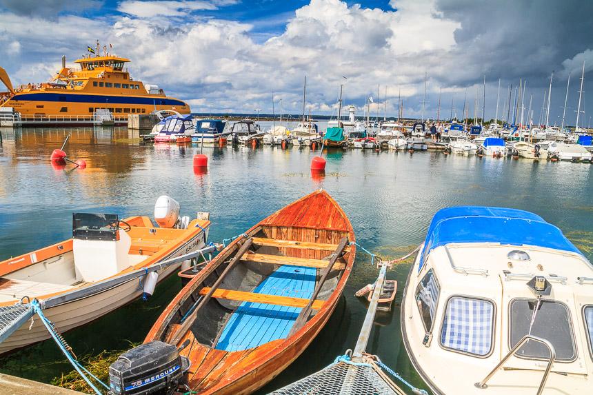 Der Hafen von Gränna