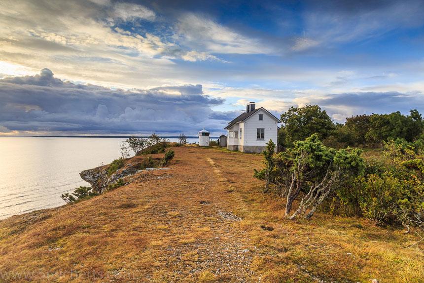 Wanderpfad entlang der Klippe, Hallsvik