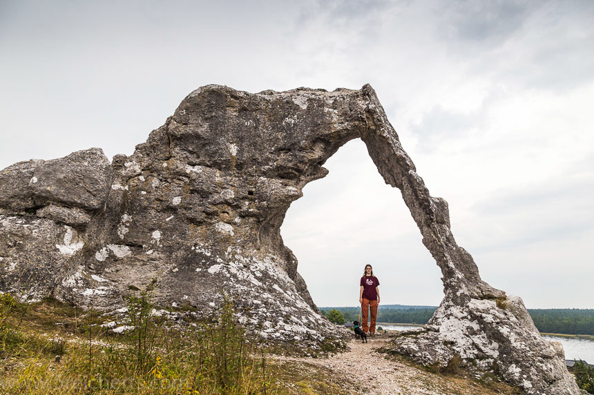 Felsbogen, Gotland