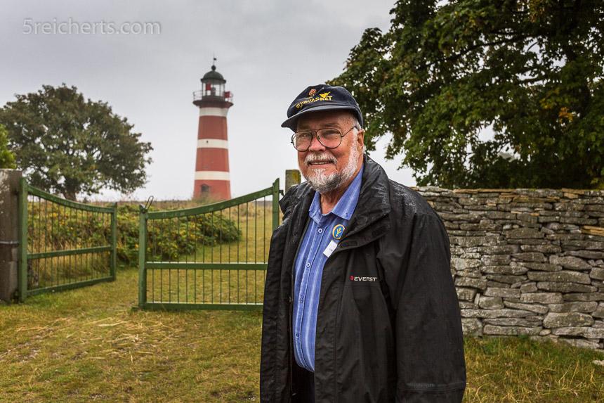 Lars, der Leuchtturm Enthusiast