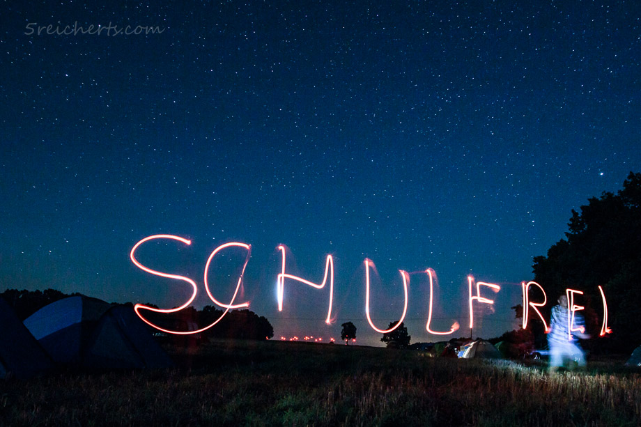 Schulfrei Festival, Nachtaufnahme