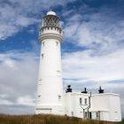 Flambourough Lighthouse, Yorkshire, Großbritannien
