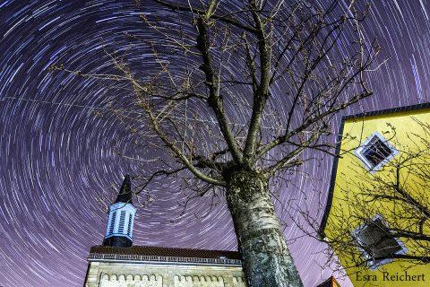 Sterne über Bubenheim, katholische Kirche