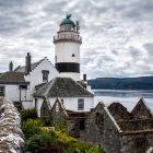 Clochpoint Lighthouse, Schottland