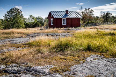 Haus auf Åland, Finnland