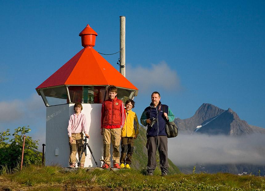 vor einigen Jahren fanden wir diesen Turm auf der Insel Senja