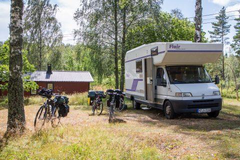 Vorbereitung einer Radtour