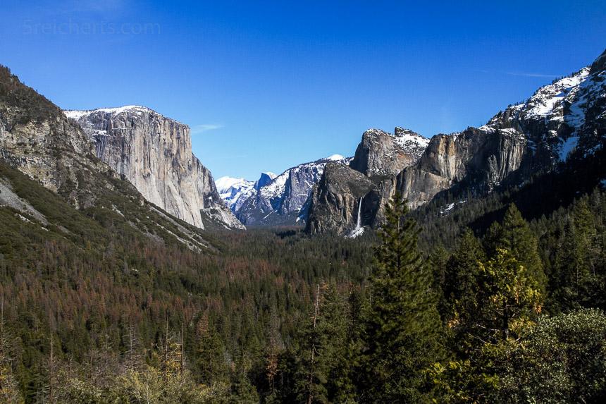 Aussicht in Yosemite