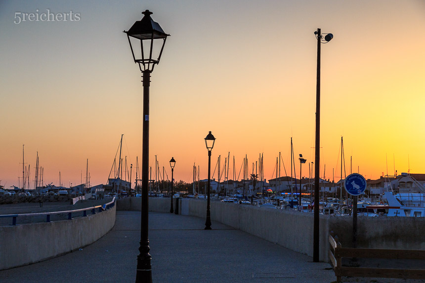 Abends in Ste Marie de la Mer