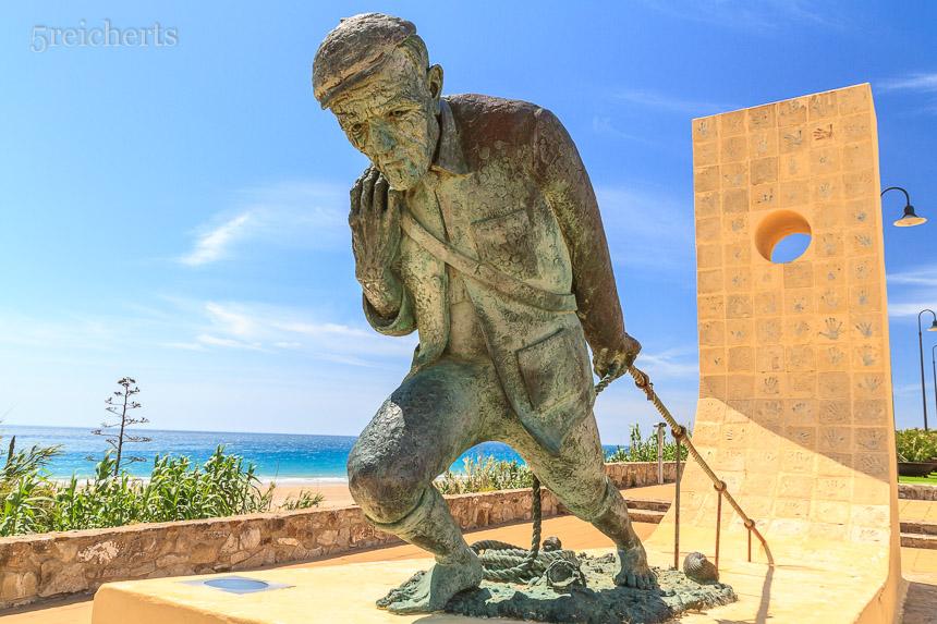 Fischerdenkmal, Andalusien