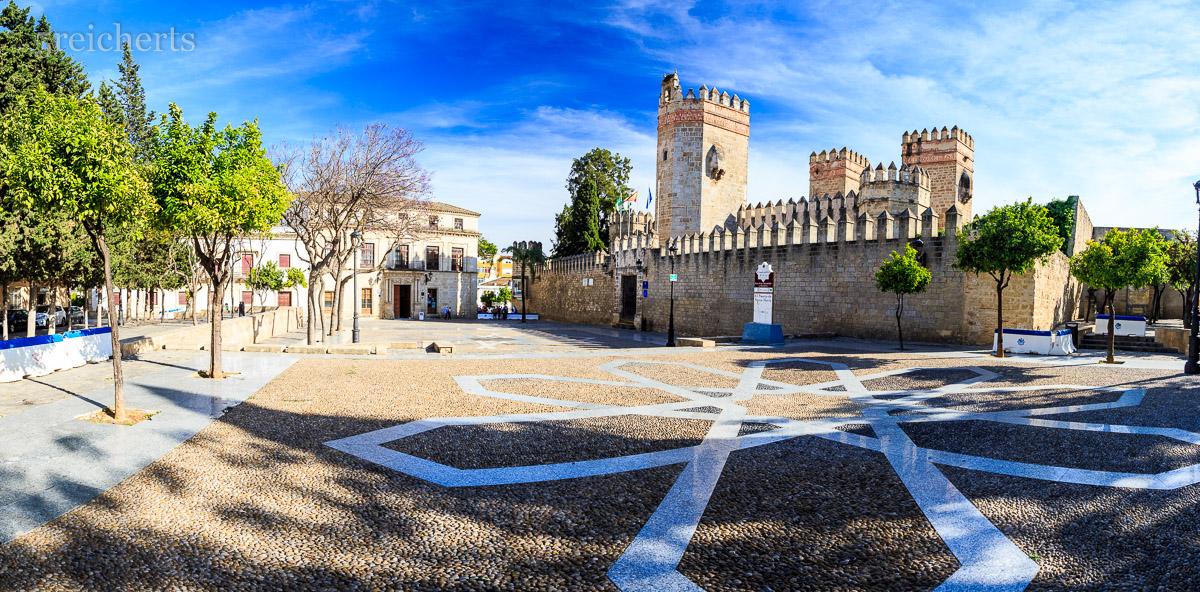 Burganlage in Puerto de Santa Maria