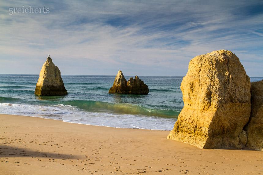 der Strand von Alvor