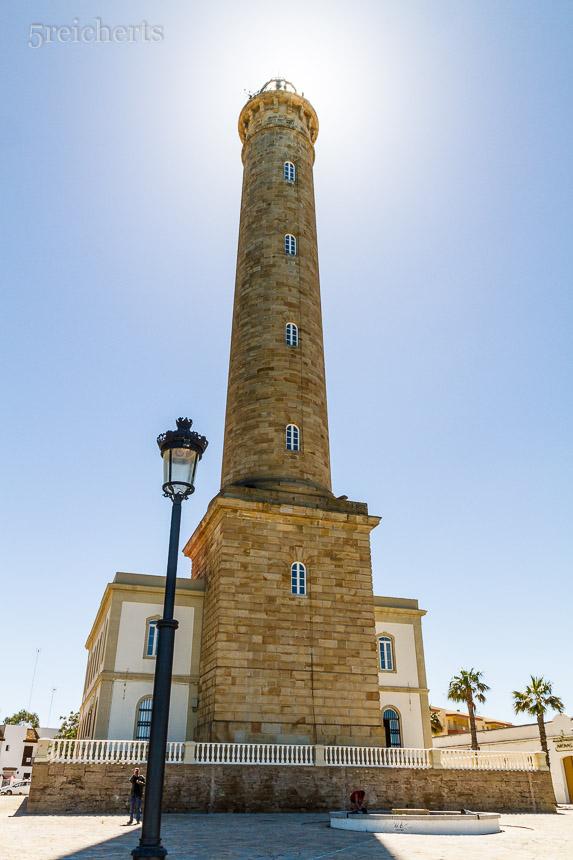 Der Leuchtturm von Chipiona, Andalusien