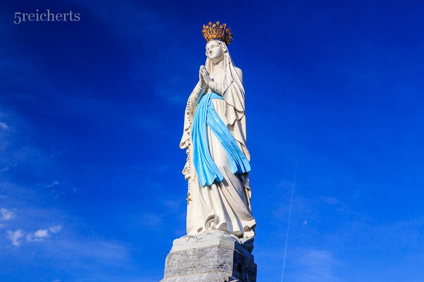 Marienstatue, Lourdes