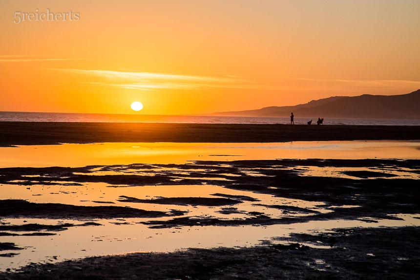 Kitschiger Sonnenuntergang, Tarifa