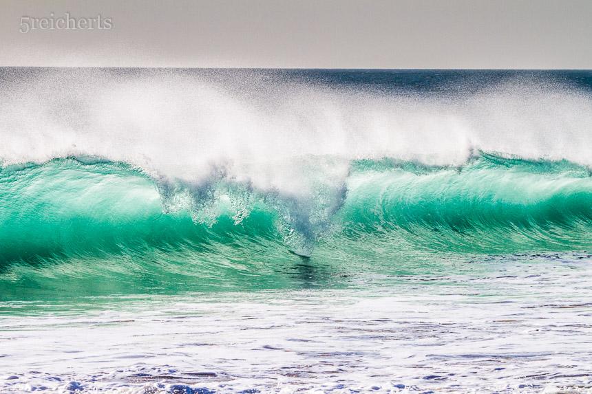 Wellen am Cabo Trafalgar