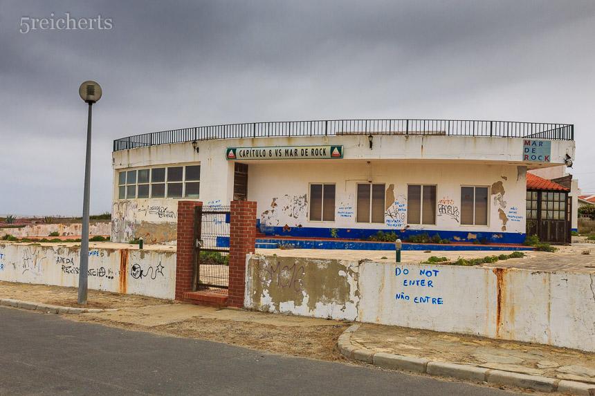 Verlassenes Gebäude in Porto Covo