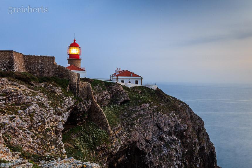 Das Licht des Leuchtturms, Cabo Sao Vicente