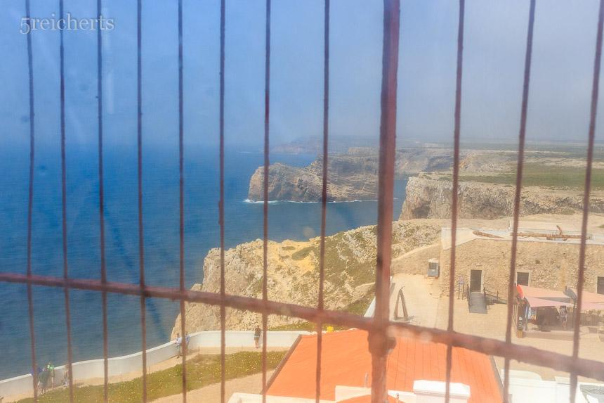 Blick aus dem Leuchtturm heraus