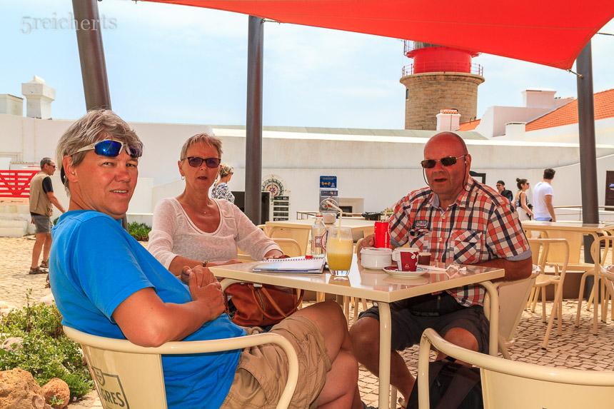 Ann Barbro, Eric und ich