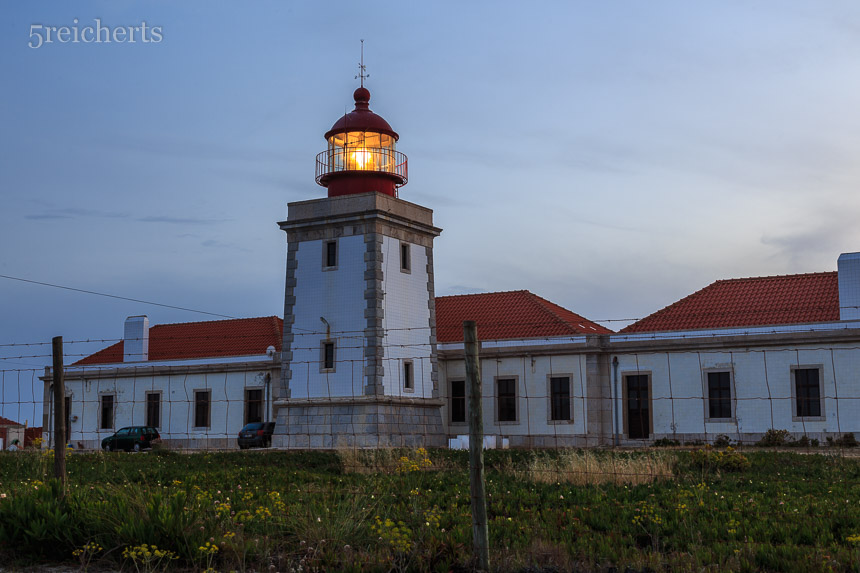 Cabo Sardao in der Nacht