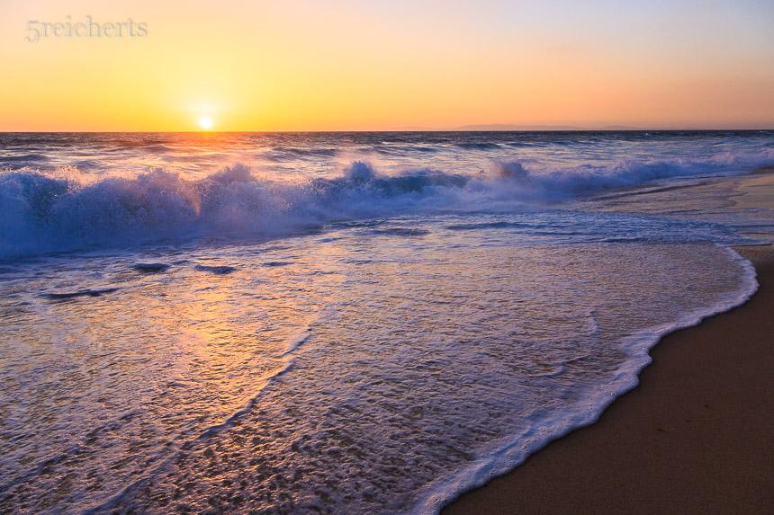 Welle am Praia Gale