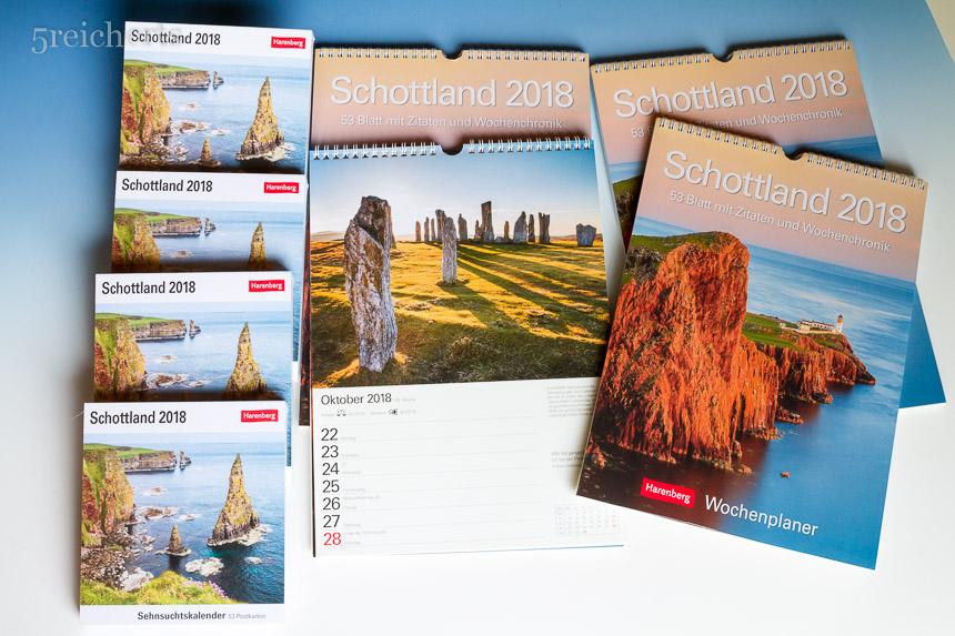 Schottland Kalender