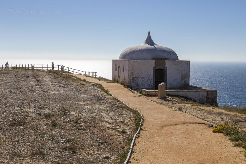 Die kleine Kapelle der Ermida da Memória