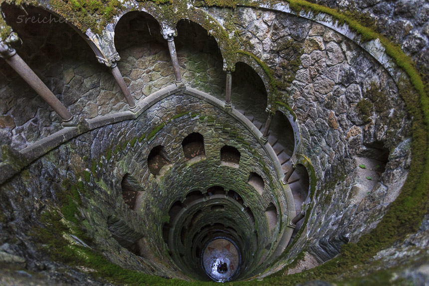 Initiation Well, Quinta Regalia, Sintra Portugal