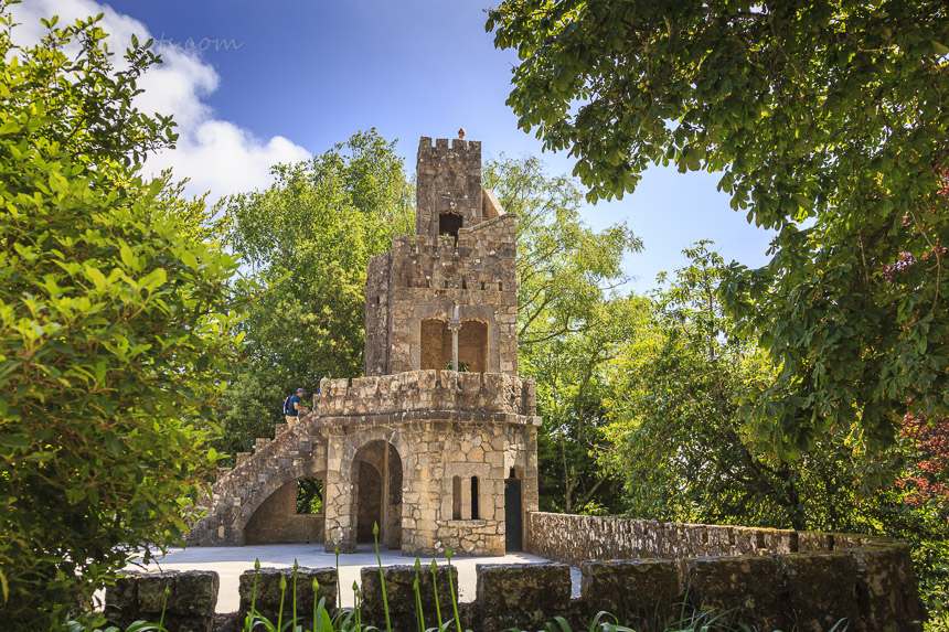 In der Quinta Regalia, Sintra Portugal
