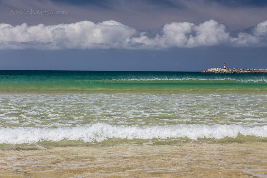 Das blaugrüne Meer, Peniche, Portugal