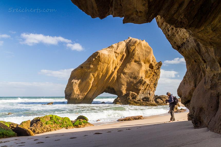 Fotografieren in Santa Cruz, Portugal