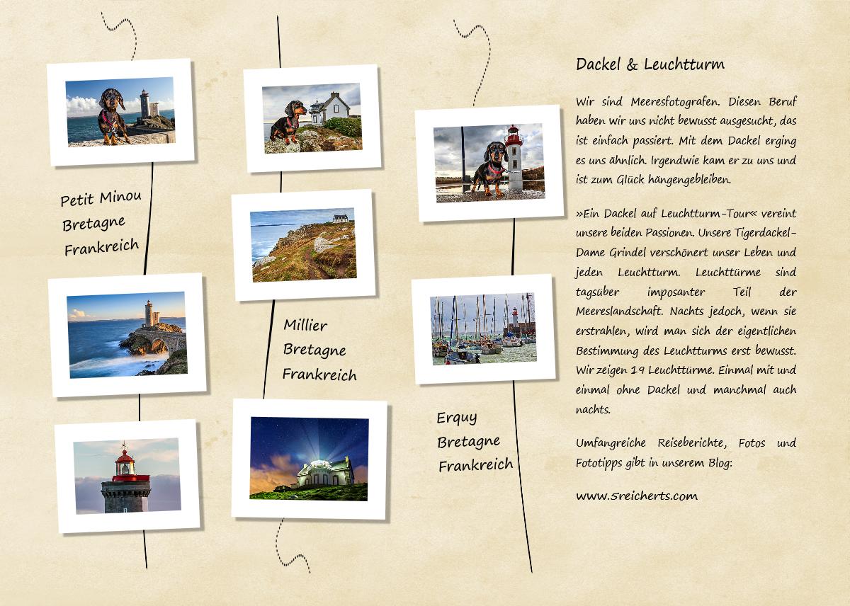 Dackel-Leuchtturm-Tischaufsteller