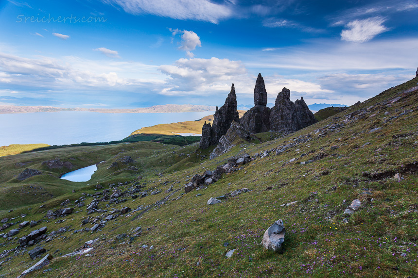 Old Man of Storr. Isle of Skye