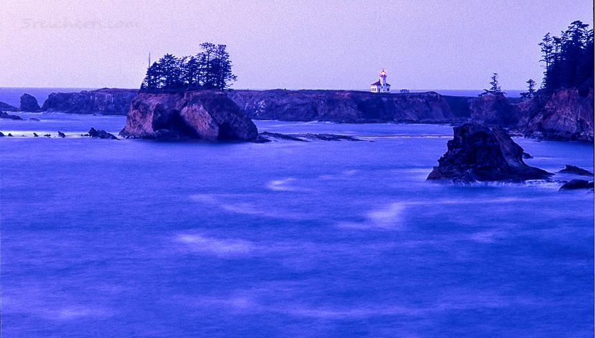 Leuchtturm in Oregon, USA