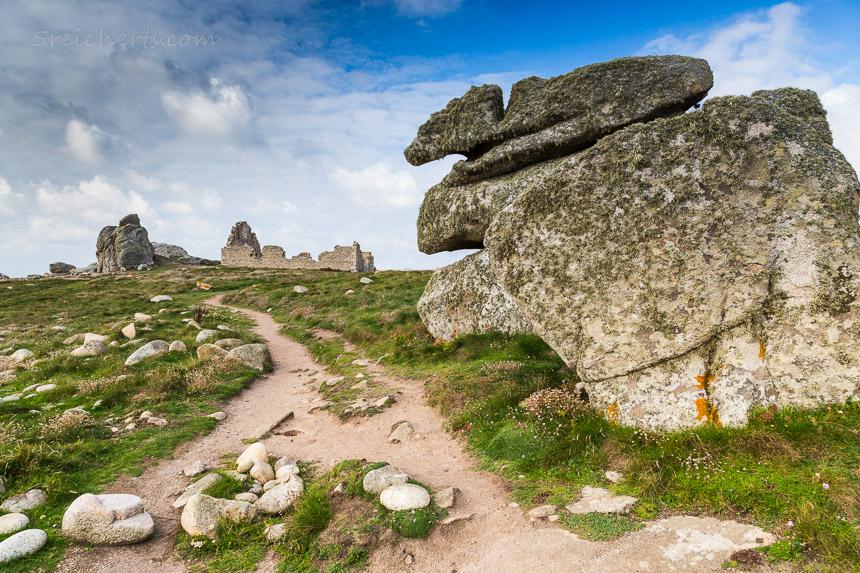 Wanderweg entlang der Küste, Pern, Ouessant