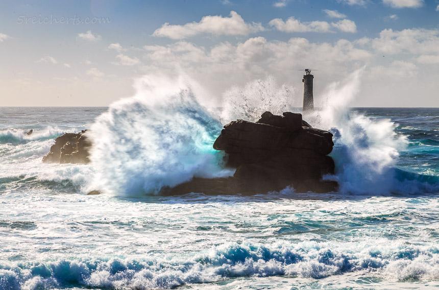 gewaltige Wellen in Pern, Ouessant