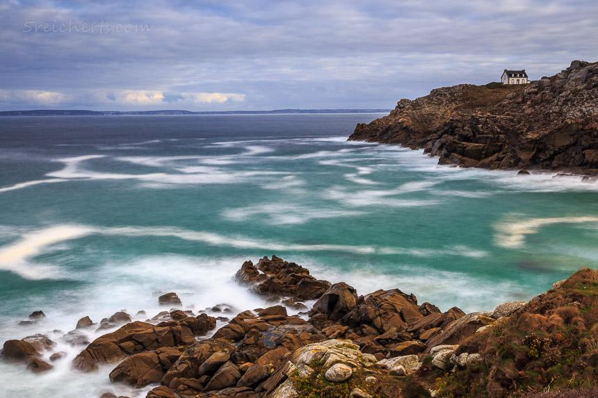 Wanderweg entlang der Buchten, Bretagne
