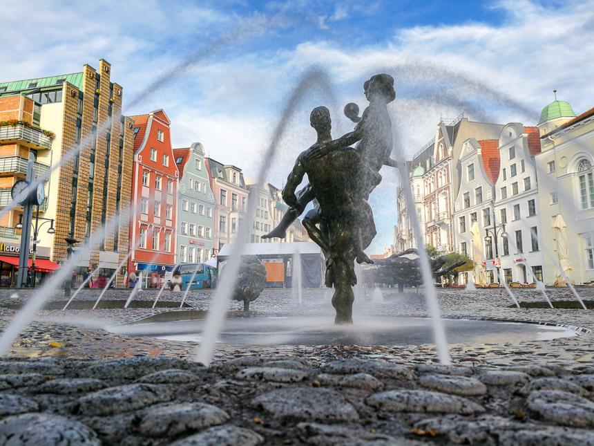 Brunnen in Rostock
