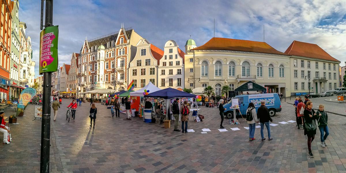 Panorama in Rostock