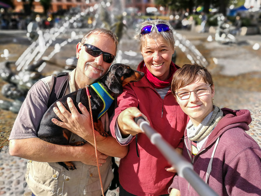Familienfoto in Rostock