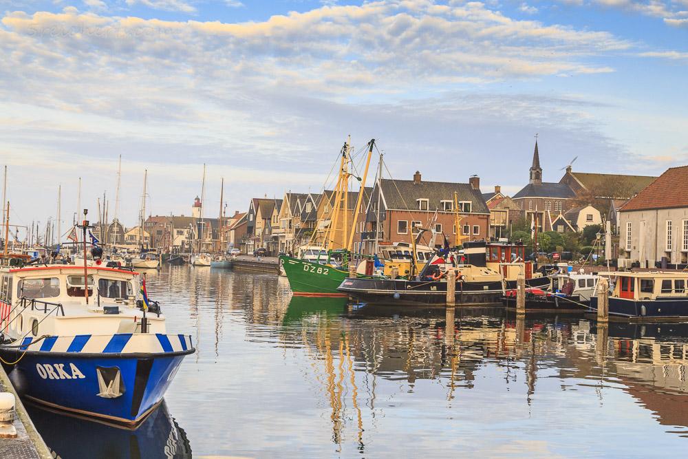 Der Hafen von Urk, Niederlande