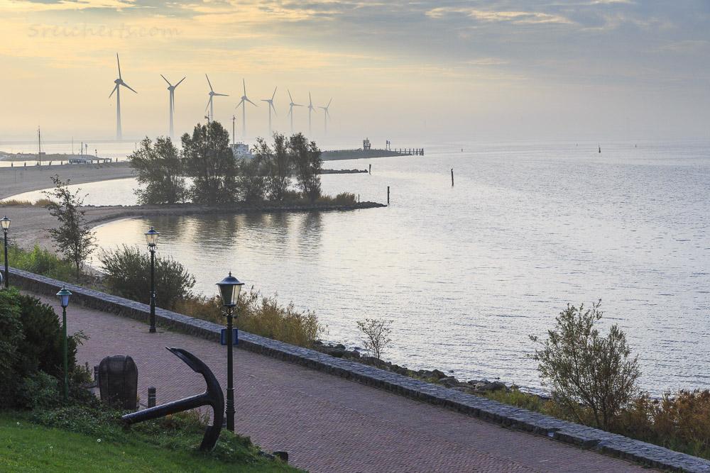 Blick aufs IJsselmeer, Niederlande