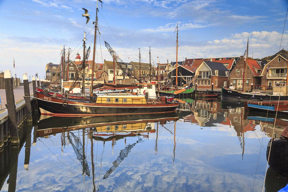 Im Hafen von Urk, Niederlande