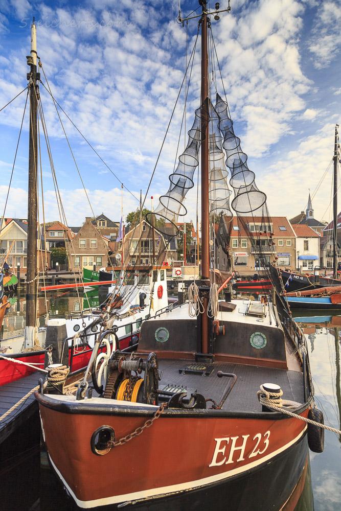 Krabbenboot, Urk, Niederlande
