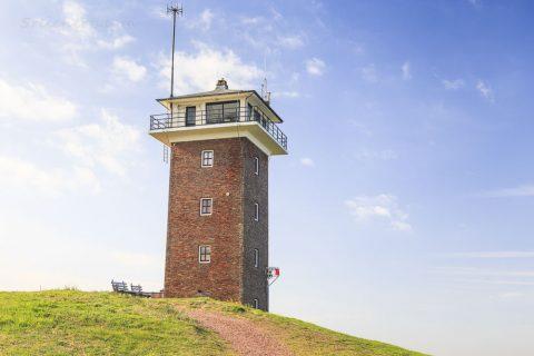 Leuchtturm Schulpengat in Huisduinen
