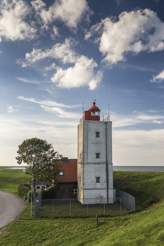 Leuchtturm De Ven, Niederlande